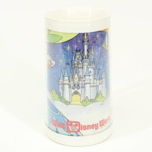 Vintage Thermo-Serv Walt Disney World Plastic Mug